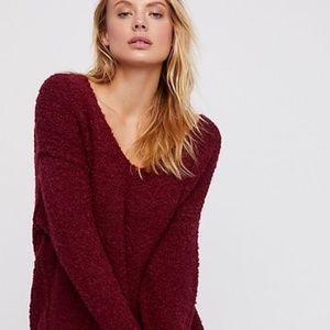 Free People v-neck sweater NWT size M